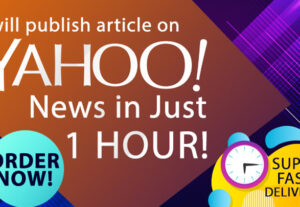 9037I Will Publish Your Business in Yahoo News or Yahoo Finance